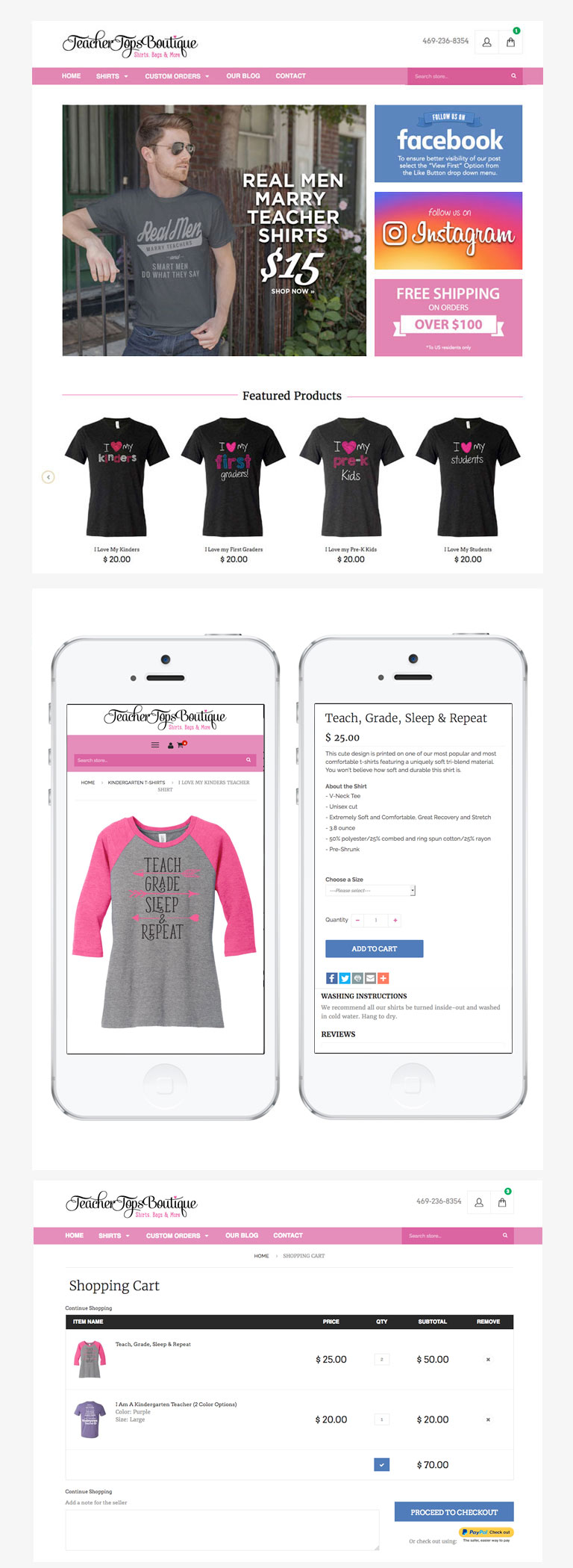 Shirt design jquery - Ui Design Created In Photoshop Html Css Jquery Shopify Responsive